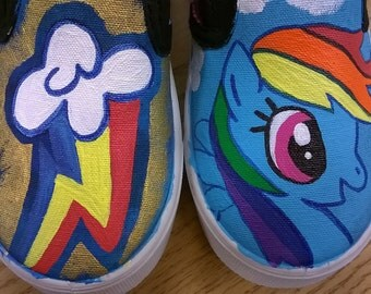 MLP customized shoes
