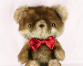 Reserved for Carolina Teddy bear plush toy faux fur