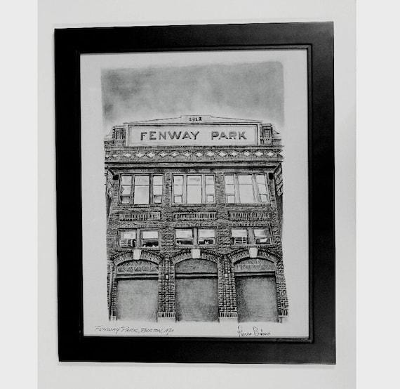 Red Sox Fenway Park Boston Wall Art