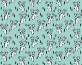 Geometric Deer - Designer Custom Organic Baby Blanket   Baby Blanket   Swaddle Wrap   Toddler Blanket by JuteBaby