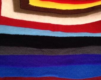 100% Merino Wool Prefelt, 19.5 micron, Over 15 colors, Felting, Felt, Prefelt, Feltmaking, Wet Felting, Nuno Felting, Pre Felt, Fiber Art