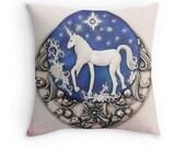 Unicorn Decor, Unicorn Pillowcase, Unicorn Cushion, Unicorn Home Decor, Nursery Decor, Birthday Gift, Unicorn Lovers Gift, Boho Home Decor