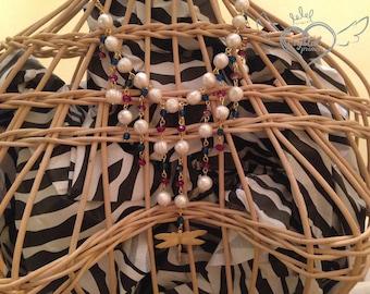 Swarovski Crystal American Dragonfly Necklace