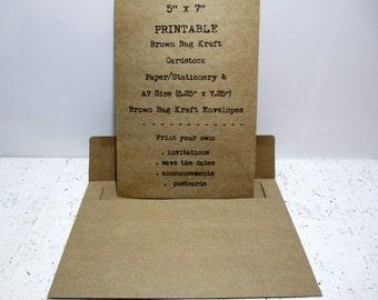 kraft wedding invitations  x printable kraft cardstock, invitation samples