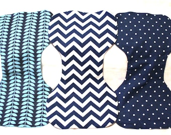 Bulk Burp Cloth Pack - Choose 3