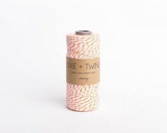 SALE 25 Yards Orange Divine Twine Baker's Twine