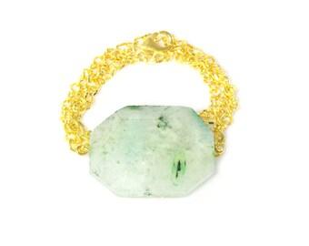 Gold Wrap Bracelet/Necklace