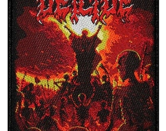 Deicide To Hell with God Album Cover Death Metal Band Sew On Applique Patch