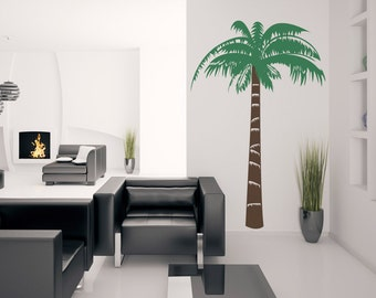 Windmill Palm Tree - Vinyl Wall Decal