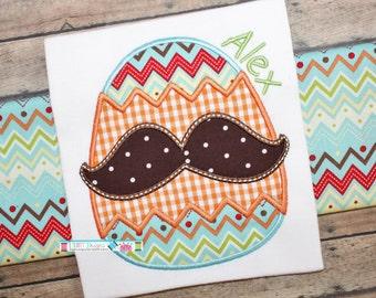 Mustache Egg Shirt, Egg Mustache Easter Shirt, Boys Easter Shirt, Boys First Easter Shirt, 1st Easter Egg Shirt, Egg 1st Easter Shirt