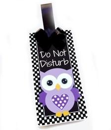 Custom Do Not Disturb Welcome Office Doorknob Hanger