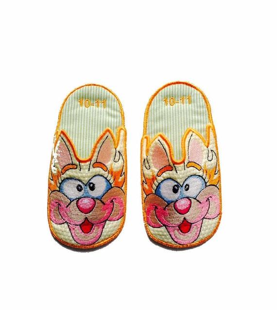 kitty bedroom slippers kids slippers novelty slippers kids shoes
