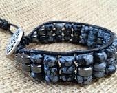 Obsidian Mens bracelet