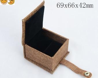 4 Pcs Of Ring Gift Box,Jewelry Gift Box ,69x66x42mm