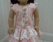 "American girl doll or 18"" doll dress"