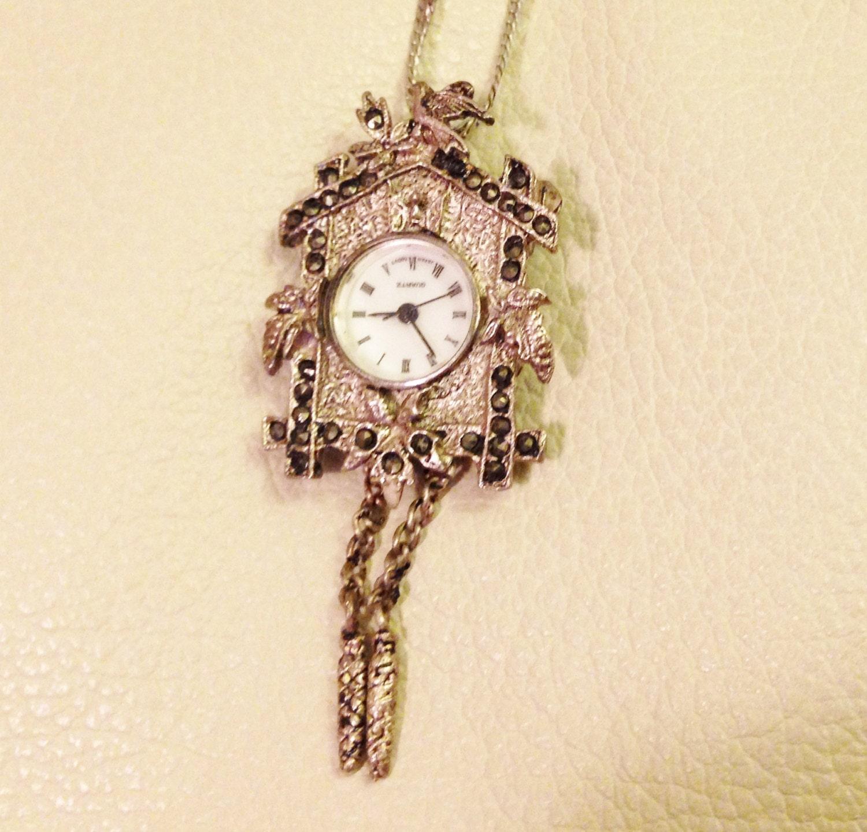 Cuckoo clock pendant watch - Cuckoo watches ...
