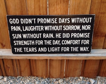 12x24 God Did Not Promise