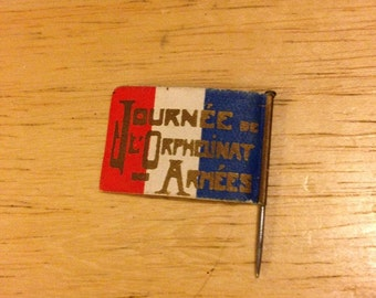 Journee de l'orphelinat des Armees Stick Pin - 1915