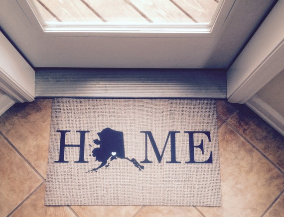 Items Similar To Personalized Door Mat Monogrammed