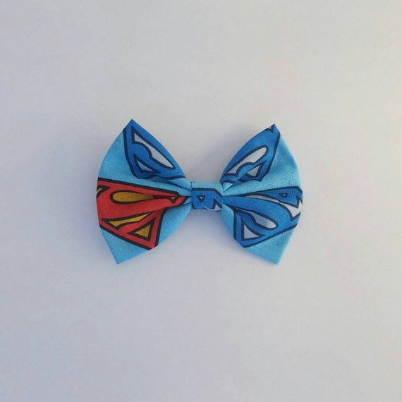 superman bow math science bow tie hair bow