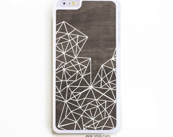 iPhone 6 Plus Case. iPhone 6+ Case. Geometric Lines. Phone Case. iPhone Case. Geometric Phone Case.