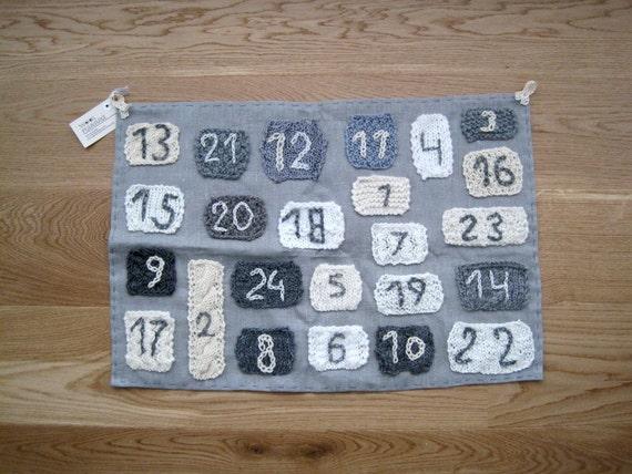Advent Calendar Handmade Knitting : Advent calendar knitted handmade by woolpleasure on etsy