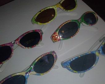 childs handpainted decorated sunglasses