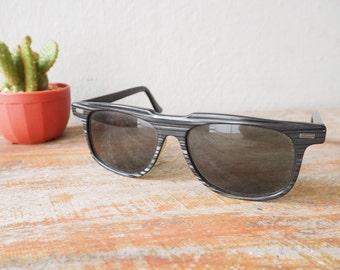 Vintage Sunglasses SRO 1950's  Great Greywood pattern New Old Stock Men's Sunglass Retro