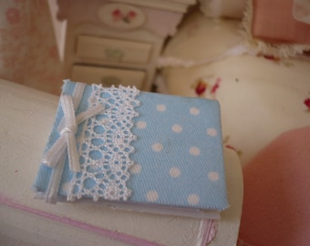 Miniature  book , photo album scrapbooking