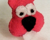 Squirrel Cutie Catnip Toy - Hand Cut & Sewn - You Pick The Color