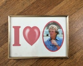 1980's Picture Frame / Kitschy Picture Frame / Funny Picture Frame