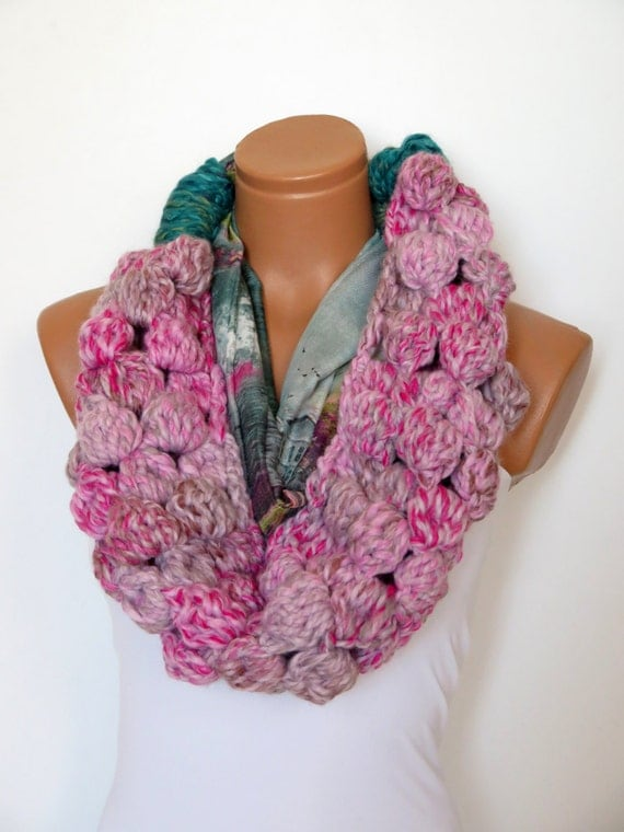 items similar to infinity scarf s cotton fabric