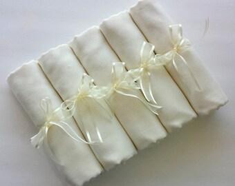 5 SET IVORY ( soft cream) PASHMINA Shawl. 5 Ivory Shawl. Bridesmaid gifts. Bridesmaid shawls. Pashmina Scarf. Wedding favor.