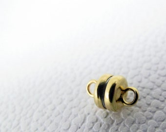 5mm Brass Magnetic Clasp Closure #45-6201