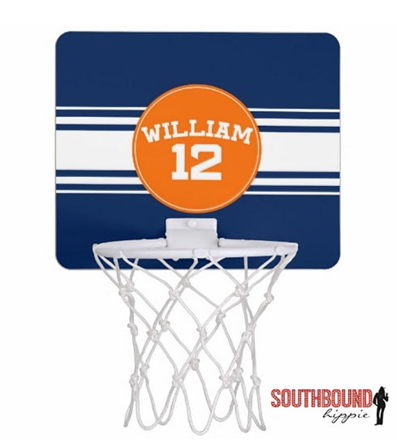 Items Similar To Mini Basketball Hoop Personalized