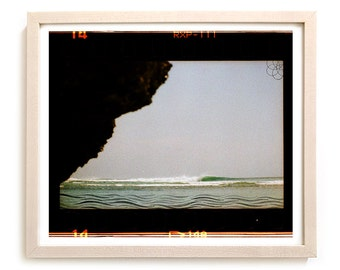 "Limited Edition Surf Art Print ""Cove"" - Mixed Media"