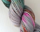 Wanderlust - Hand Dyed Superwash Merino Wool Yarn - fingering weight