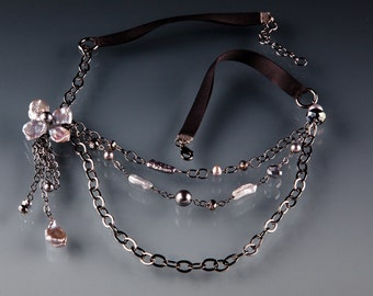 Freshwater Petal Blossom Necklace