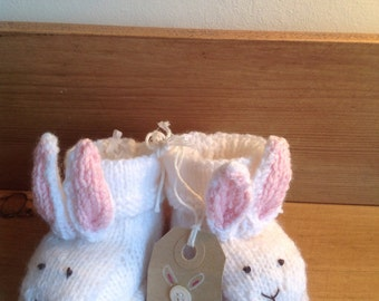 Hand Knitted Bootees