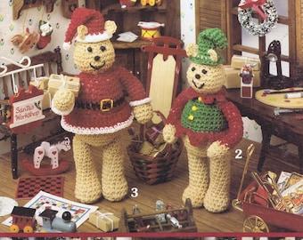 Miniature Bears Crochet Patten - 6 Designs