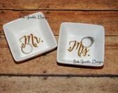 Ring Dish Set Mr. and Mrs. Ring Dish Set
