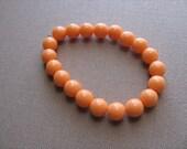 JEWELRY SALE- Girls Bracelet- Beaded Children's Jewelry- Orange
