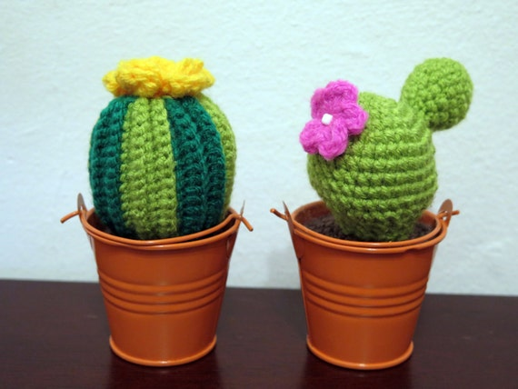 Tecnica Amigurumi Cactus : Cute custom amigurumi crochet cactus