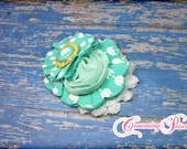 Mint Green Headband, Hello Lovely Hair Accessory, Matilda Jane Spring, M2M Simply Sylvan Headband, Made to Match Tulip Festival, Hair Clip