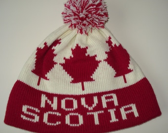 Nova Scotia homemade knit adult hat