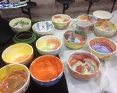 Kindergarten Art Cereal/soup bowls