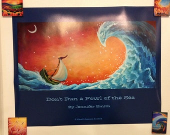 Don't Run A Fowl of the Sea Poster