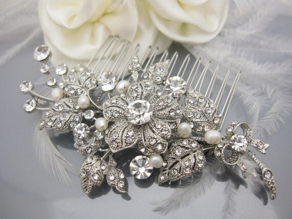 Bridal hair comb wedding hair accessory bridal comb wedding hair comb bridal hair jewelry wedding hair piece bridal jewelry bridal accessory