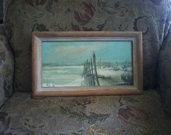Original Oil Painting Dunes