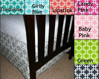 Premier Prints Gotcha, Crib Skirt 4-sided